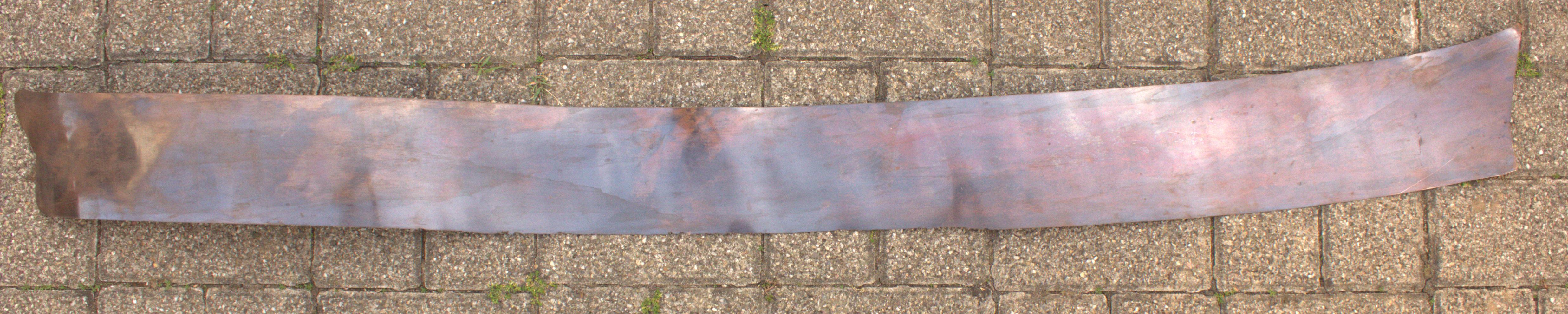 Buntmetallblech: Rottombak, Stärke 0,35 mm
