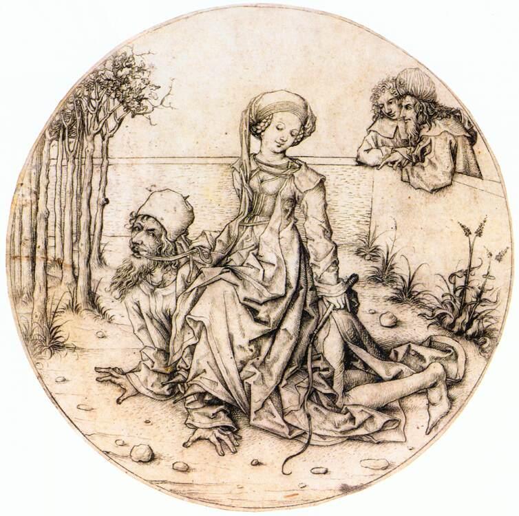 aristoteles und Phyllism Hausbuchmeister